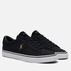 Мужские кеды Polo Ralph Lauren Sayer NE Canvas Black