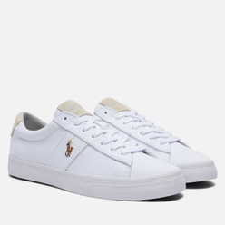 Мужские кеды Polo Ralph Lauren Sayer NE Canvas White