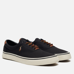 Мужские кеды Polo Ralph Lauren Thorton NE Canvas Black