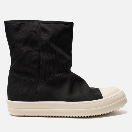 Мужские кеды Rick Owens DRKSHDW High Black/Milk