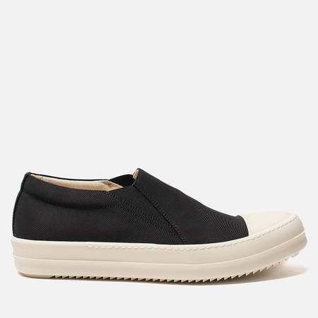 Мужские кеды Rick Owens DRKSHDW Low Black/Milk