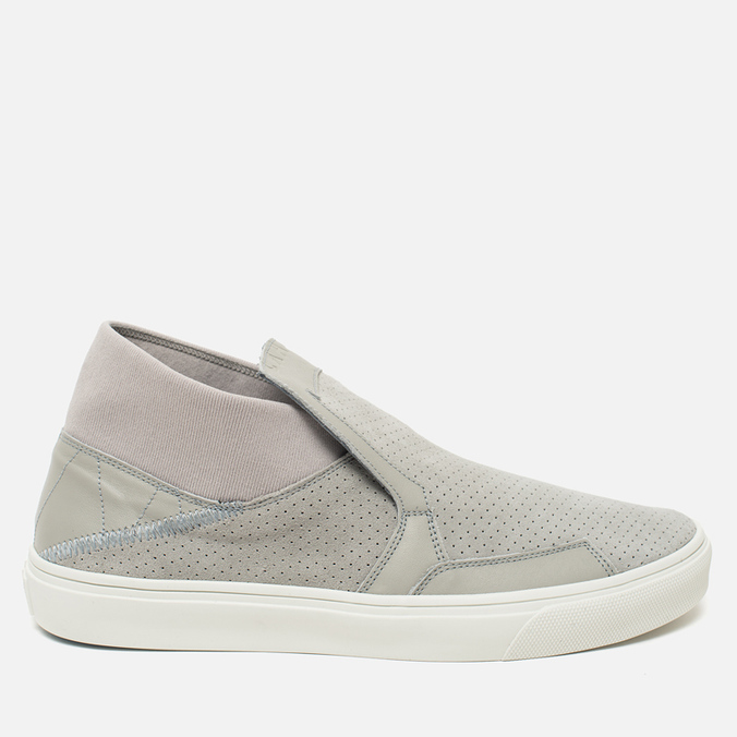 Мужские кеды Stone Island Shadow Project Step-On Slip-On Grey