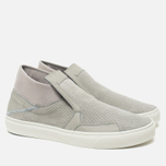 Мужские кеды Stone Island Shadow Project Step-On Slip-On Grey фото- 1