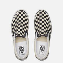 Мужские кеды Vans Classic Slip-On 98 DX Anaheim Factory Checkerboard/Black/White фото- 5