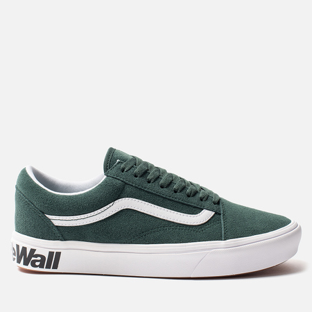 Мужские кеды Vans Comfycush Old Skool Classic Trekking Green/True White