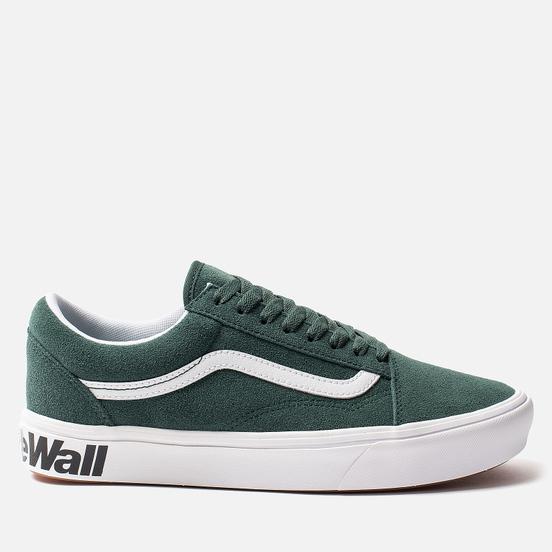 Мужские кеды Vans Comfycush Old Skool Classic Trekking Green/True White