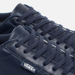 Мужские кеды Vans Court Leather Peacoat фото- 5