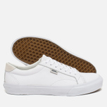 Мужские кеды Vans Court Leather True White фото- 2