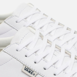 Мужские кеды Vans Court Leather True White фото- 5
