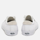 Мужские кеды Vans Court Leather True White фото- 3