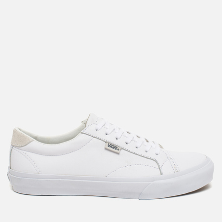 Vans Court Leather Men's Plimsoles True White