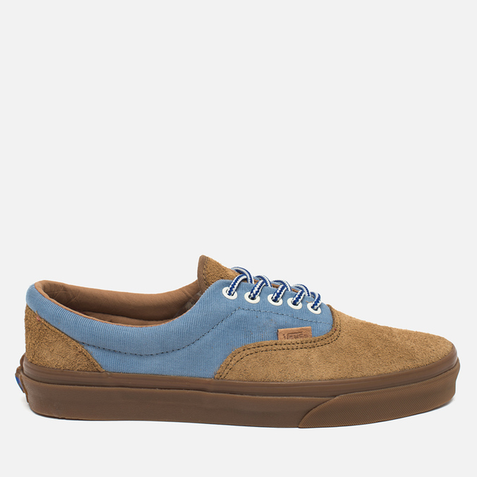 Vans Era Plus Suede Men's Plimsoles Breen/Bleu/Marron