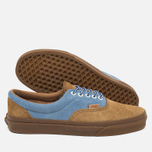 Мужские кеды Vans Era Plus Suede Breen/Bleu/Marron фото- 2