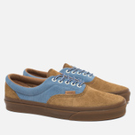 Мужские кеды Vans Era Plus Suede Breen/Bleu/Marron фото- 1