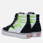 Мужские кеды Vans Flame Sk8-Hi Black/True White фото - 2