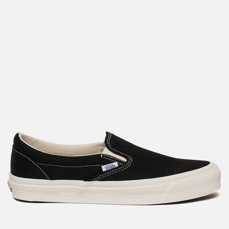 Мужские кеды Vans OG Classic Slip-On LX Black