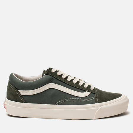 Мужские кеды Vans OG Old Skool LX Forest Night/Cilantro