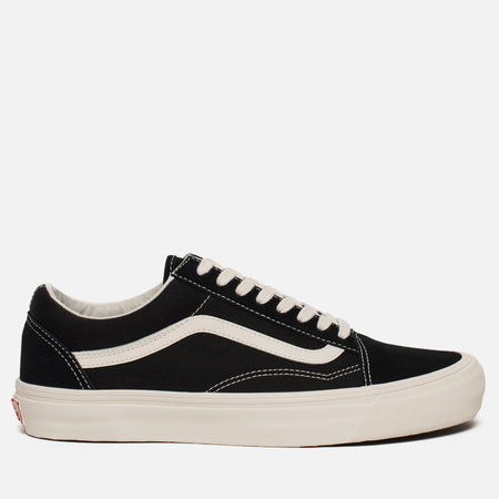 Мужские кеды Vans OG Old Skool LX Suede/Canvas Black/Marshmallow
