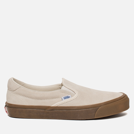 Мужские кеды Vans OG Slip-On 59 LX Suede Sugar Swizzle/Light Gum
