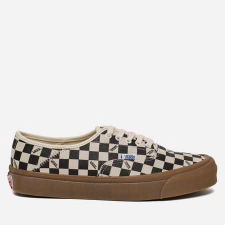 Мужские кеды Vans OG Style 43 LX Suede Checkerboard/Light Gum