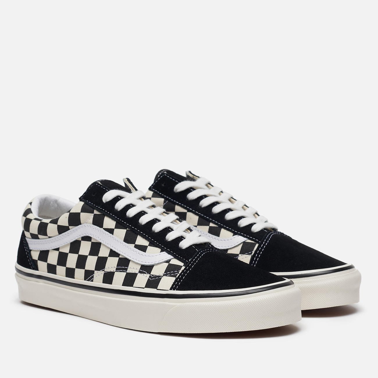 Мужские кеды Vans Old Skool 36 DX Anaheim Factory Black/Check