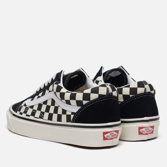 Мужские кеды Vans Old Skool 36 DX Anaheim Factory Black/Check