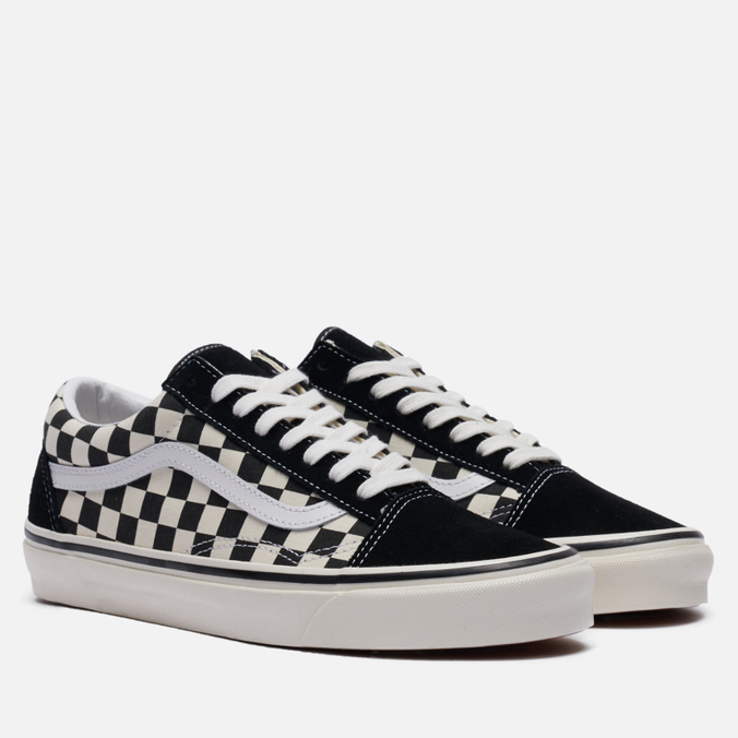 4d5e1812d Мужские кеды Vans Old Skool 36 DX Anaheim Factory Black/Check VA38G2OAK