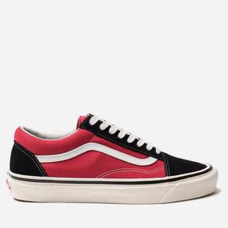 Мужские кеды Vans Old Skool 36 DX Anaheim Factory Black/Red