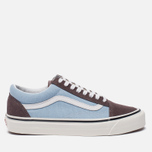 Кеды Vans Old Skool 36 DX Anaheim Factory Brown/Light Blue фото- 0