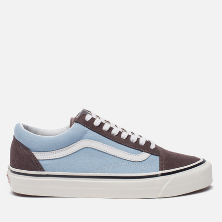 Кеды Vans Old Skool 36 DX Anaheim Factory Brown/Light Blue