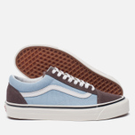 Кеды Vans Old Skool 36 DX Anaheim Factory Brown/Light Blue фото- 1