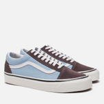 Кеды Vans Old Skool 36 DX Anaheim Factory Brown/Light Blue фото- 2
