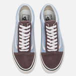 Кеды Vans Old Skool 36 DX Anaheim Factory Brown/Light Blue фото- 4