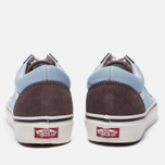Кеды Vans Old Skool 36 DX Anaheim Factory Brown/Light Blue фото- 5