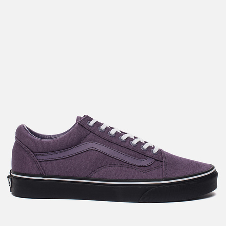 Мужские кеды Vans Old Skool Black Outsole Montana Grape/Black