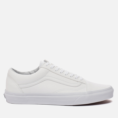 Мужские кеды Vans Old Skool Classic Tumble True White