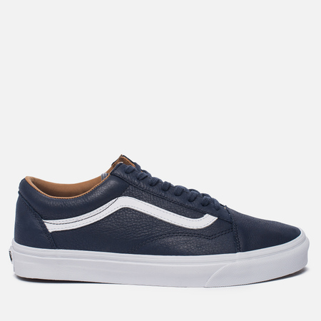 Мужские кеды Vans Old Skool Premium Leather Parisian Night/True White