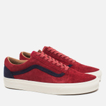 Мужские кеды Vans Old Skool Reissue Suede Red фото- 1