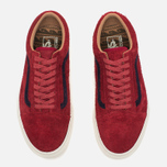 Мужские кеды Vans Old Skool Reissue Suede Red фото- 4