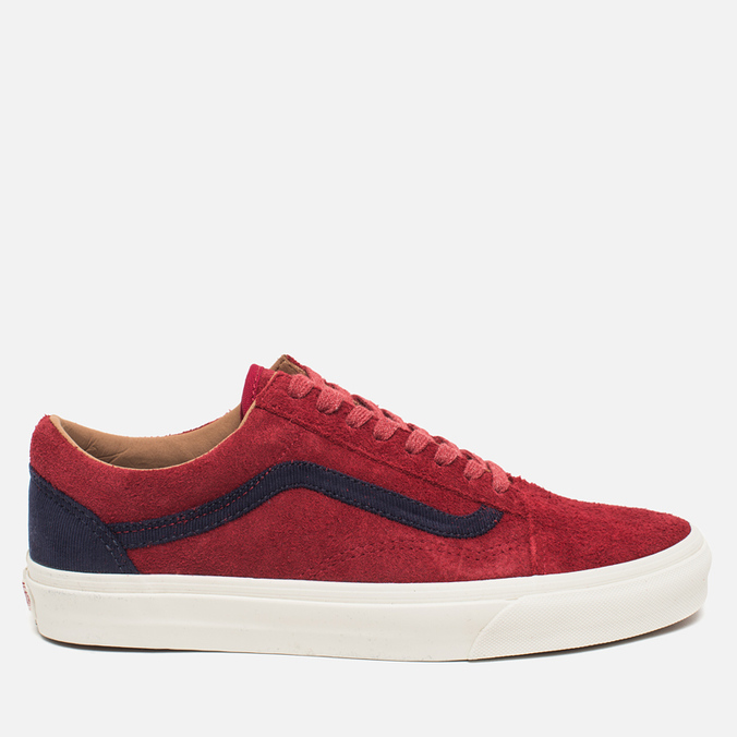 Мужские кеды Vans Old Skool Reissue Suede Red