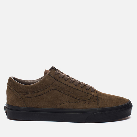 Мужские кеды Vans Old Skool Suede Teak/Black
