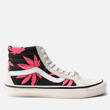 Мужские кеды Vans SK8-Hi 38 DX Anaheim Factory OG White/OG Black/Summer Leaf фото- 3