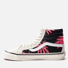 Мужские кеды Vans SK8-Hi 38 DX Anaheim Factory OG White/OG Black/Summer Leaf фото- 5