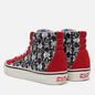 Мужские кеды Vans SK8-Hi 38 DX Anaheim Factory Skulls/Red/Black фото - 2