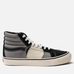 Мужские кеды Vans SK8-Hi Bricolage LX Black/Grey фото- 0