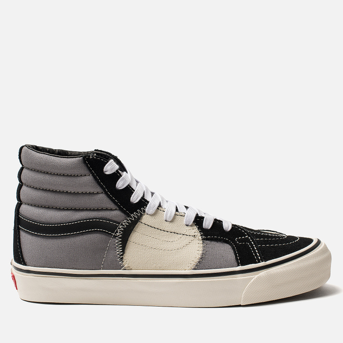 Мужские кеды Vans SK8-Hi Bricolage LX Black/Grey