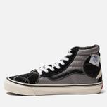Мужские кеды Vans SK8-Hi Bricolage LX Black/Grey фото- 1
