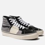 Мужские кеды Vans SK8-Hi Bricolage LX Black/Grey фото- 2