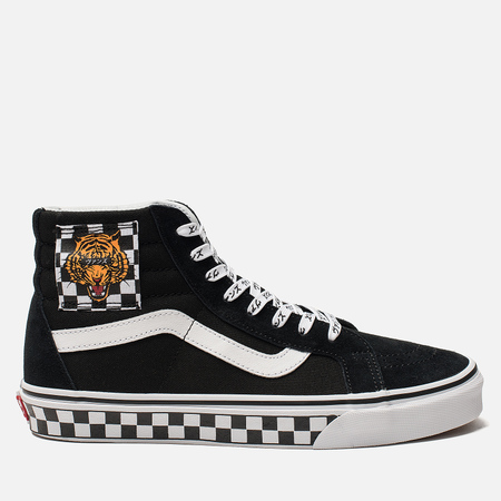 Мужские кеды Vans SK8-Hi Reissue Tiger Check Black/True White