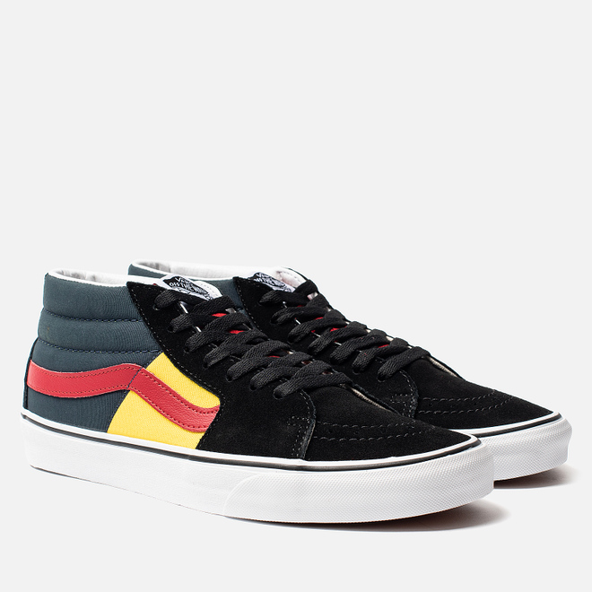 Мужские кеды Vans SK8-Mid OTW Rally Black/True White